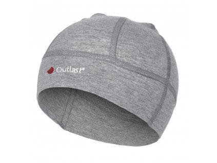 Čepice smyk BABY Outlast® - šedý melír (Velikost 0 | 33-35 cm)