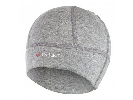 Čepice smyk SPORT Outlast® - šedý melír (Velikost 5 | 49-53 cm)