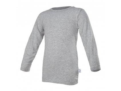 Tričko tenké DR Outlast® - šedý melír (Velikost 86)