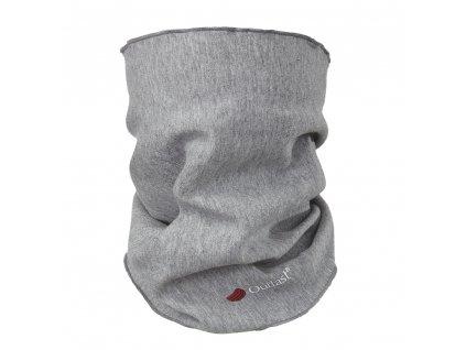 Nákrčník dětský smyk Outlast® - šedý melír (Velikost UNI)