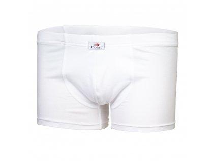 Boxerky pánské tenké Outlast® - bílá (Velikost S)