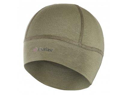 Čepice SPORT tenká Outlast® - khaki (Velikost 5 | 49-53 cm)