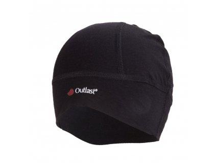 Čepice SPORT tenká Outlast® - černá (Velikost 5 | 49-53 cm)