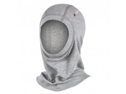 Kukla smyk Outlast® - šedý melír (Velikost 4 | 45-48 cm)