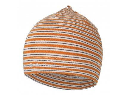 Čepice smyk natahovací PRUH Outlast ® - pruh med (Velikost 1 | 36-38 cm)