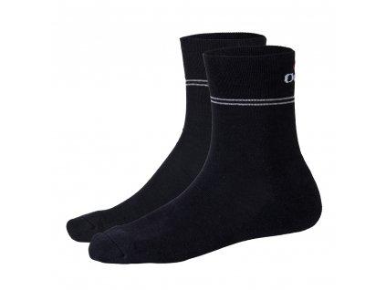 Ponožky froté Outlast® - černá (Velikost 35-38)