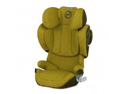 Cybex Solution Z i-Fix PLUS Mustard Yellow 2020  autosedačka 15-36 kg