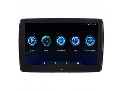 """LCD monitor 11,6"""" OS Android/USB/SD s držákem na opěrku"""