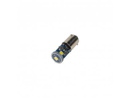 LED BAX9s bílá, 12V, 3LED/3030SMD
