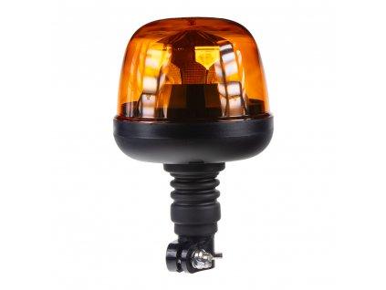 LED maják, 12-24V, 10x1,8W, oranžový, na držák, ECE R65 R10