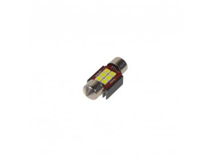 LED sufit (31mm) bílá, 12/24V, 6LED/2835SMD