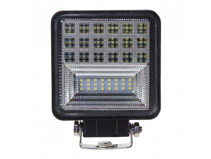 LED světlo čtvercové, 42x1W, 126x110mm, ECE R10