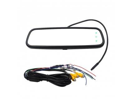 """AHD set LCD monitor 7,36"""" v zrcátku pro OEM montáž + AHD kamera 150°"""