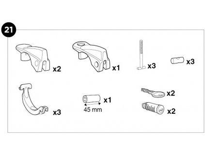 1500052862 SquareBar Adapter Repair Kit