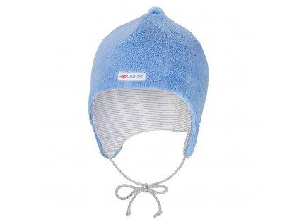 Čepice MAZLÍK Outlast® - stř.modrá (Velikost 1 | 36-38 cm)