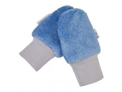 Rukavice bez palce MAZLÍK Outlast® - stř.modrá (Velikost 1)