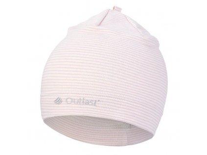 Čepice smyk natahovací PRUH Outlast ® - pruh levandule (Velikost 1 | 36-38 cm)