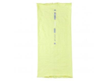 Nákrčník multifunkční tenký REFLEX Outlast® - citronová (Velikost UNI)
