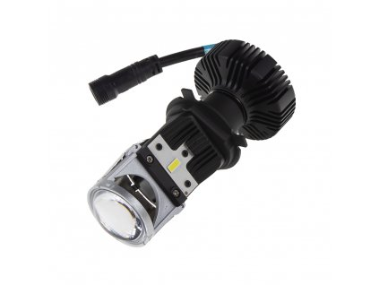 LENS LED H4 bílá, 9-32V, 5000LM chip G-XP x3