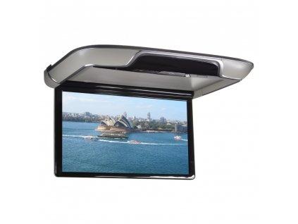 """Stropní LCD monitor 21,5"""" šedý s OS. Android HDMI / USB, dálkové ovládání se snímačem pohybu"""