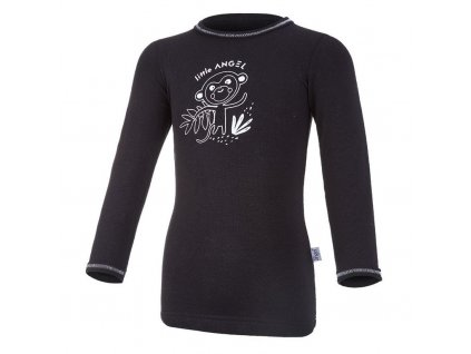 Tričko smyk SAFARI DR Outlast® - černá/safari (Velikost 86)