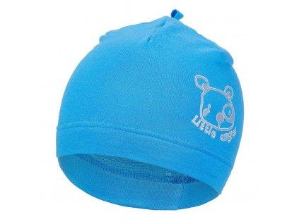 Čepice smyk obrázek Outlast ® - modrá (Velikost 1 | 36-38 cm)