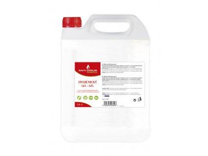 PROFEX ANTI-VIRUS DEZINFEKCE GEL 5 L  Dezinfekce gel 5 l