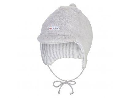Kšiltovka MAZLÍK Outlast® - sv.šedá (Velikost 1 | 36-38 cm)