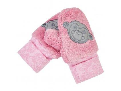 Rukavice s palcem MAZLÍK Outlast® - růžová (Velikost 1)