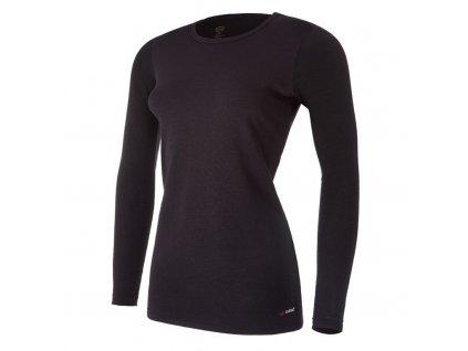 Tričko dámské DR smyk Outlast® - černá (Velikost S)