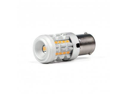 LED BAU15S oranžová, 12V, CAN-BUS, 26LED SMD