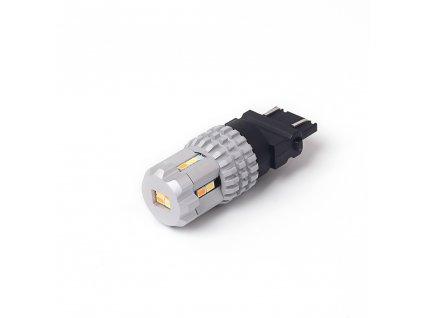 LED T20 (3157) bílá/oranžová, 12V, 12LED SMD