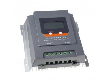 Inteligentní MPPT solární regulátor nabíjení, 20A s LCD, Bluetooth