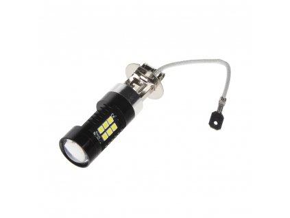 LED H3 bílá, 12V, 21LED/3030SMD