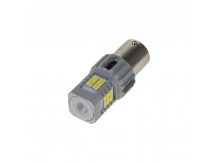 LED BA15s bílá, CAN-BUS, 12V, 24LED/3020SMD