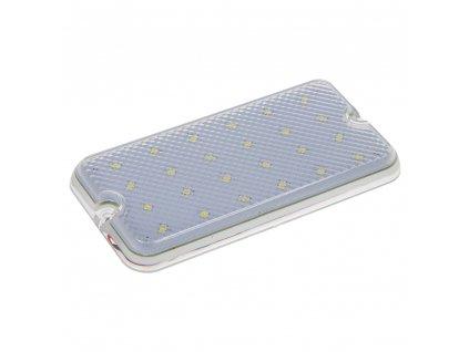 LED světlo nástěnné, bílé, 24x0,2W, ECE R10