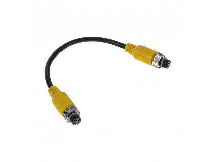 Kabel video 4pin samice/samice, 0,2m