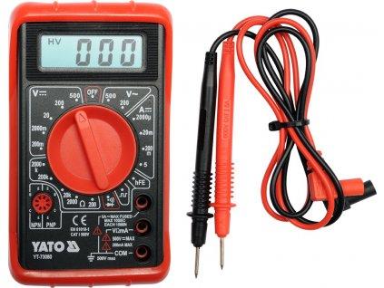 Multimetr digitální, YATO   73080