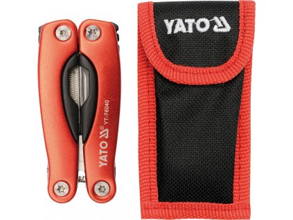 Multifunkční nůž 9 funkcí 105 mm, YATO