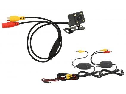 Parkovací kamera DICE bezdrátová polohovací s LED přísvitem, 33594