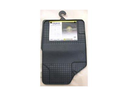 Gumové rohože VARIO II - přední ( 2ks)