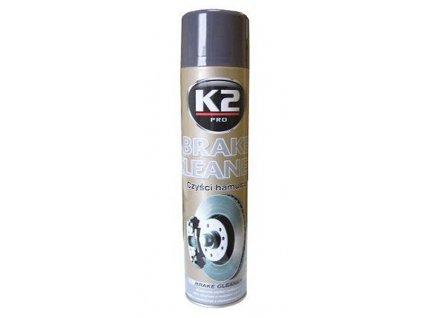 K2 BRAKE CLEANER 600 ml - čistič brzd (redukuje pískání) , W105