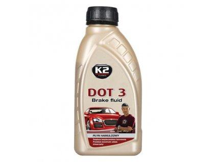 K2 DOT 3 - 500 g - brzdová kapalina, T103