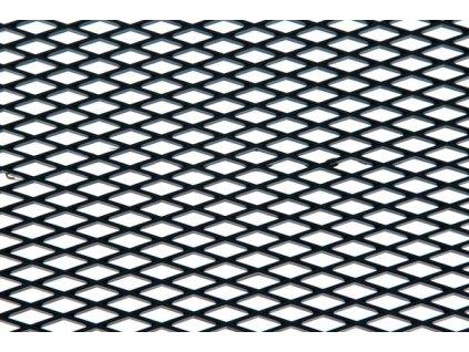 Hliníková mřížka (Tahokov) rozměr 1000x250 mm, AL 08 černý MO