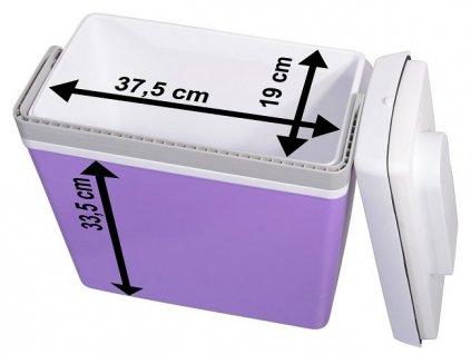 Chladící box 23l 220V/12V, 07129