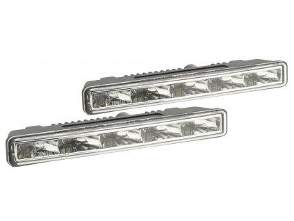 Světla denního svícení 5 HIGH POWER LED 12/24V (182x23x51mm), 33550