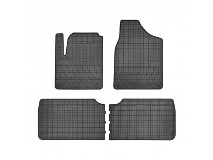 Autokoberce gumové FROGUM Ford Galaxy I 95-06, Seat Alhambra I 95-10, VW Sharan I 96-10