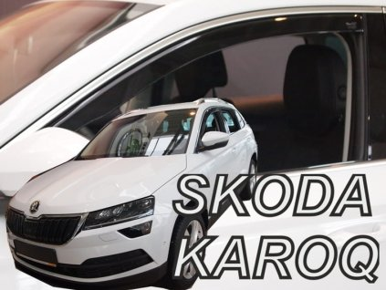 Plexi Škoda Karoq 5dv 2017r  (2427)