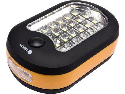 Svítilna ruční 24+1 LED, VOREL