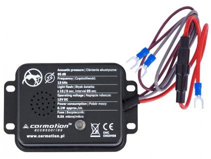 Odpuzovač kun a hlodavců včetně zábleskové diody 12V, 58108